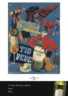 Old Tio Pepe Poster