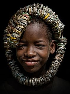 artafrica:  Bottle Cap Headdress, Omo valley, Ethiopia by Stefan Cruysberghs