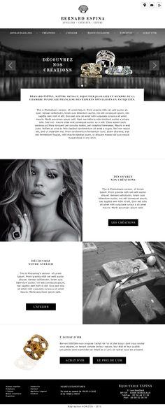 webdesign pour site vitrine de salon de coiffure cr ation graphique laurence richard. Black Bedroom Furniture Sets. Home Design Ideas