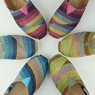 Toms shoes are so nice.I like them very much.