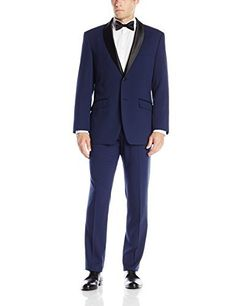 """This Perry Ellis suit is made of high quality fabric which allows for comfort and ease of movement. The fit is updated and the styling is classic yet fun. It would be a great addition to any wardrobe.       Famous Words of Inspiration...""""Cynicism is humor in ill...  More details at https://jackets-lovers.bestselleroutlets.com/mens-jackets-coats/suits-sport-coats/suits/product-review-for-perry-ellis-portfolio-mens-two-button-slim-fit-tuxedo/"""