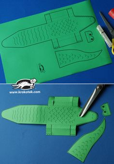 krokotak | ruhacsipesz Crocodile