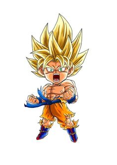 Do you want to know How Strong Is Goku in Dragon Ball? Here's a close estimates of How Strong Is Goku is. Anime Chibi, Chibi Goku, Chibi Marvel, Dragon Ball Gt, Akira, Sketches, Fan Art, Drawings, Ideas