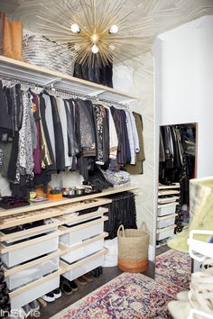 Take a tour of Rebecca Minkoff's closet in her New York City home for a serious dose of design inspiration.
