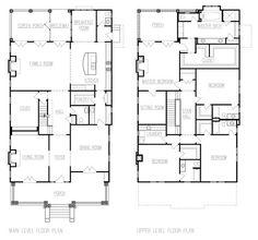 american foursquare floor plans - Google Search