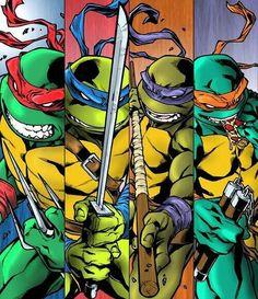 Please like and share and comment if you ♥♡love the Ninja Turtles ! Go TMNT Go ! Ninja Turtles Art, Teenage Mutant Ninja Turtles, Teenage Turtles, Comic Books Art, Comic Art, Tortugas Ninja Leonardo, Anime, Mario, Poster Prints