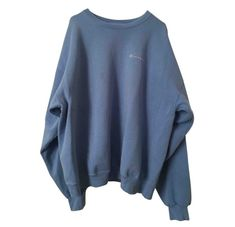 Buy your blue cotton knitwear & sweatshirt Champion on Vestiaire Collective, the luxury consignment store online. Second-hand Blue cotton knitwear & sweatshirt Champion Blue in Cotton available. Cute Comfy Outfits, Trendy Outfits, Cool Outfits, Fashion Outfits, Grunge Outfits, Sweatshirt Outfit, Vintage Nike Sweatshirt, Blue Champion Sweatshirt, Tokyo Street Fashion