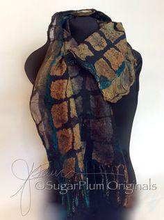 Nuno vilten scarflette een door J. Gauger oorspronkelijke