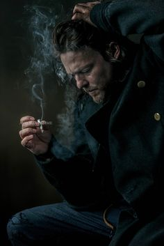 Norman Reedus by Amanda Demme. So gorgeous. Beautiful shot.