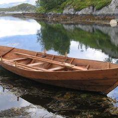 Step-By-Step Boat Plans - DIY Viking Boat Building thumbnail - Master Boat Builder with 31 Years of Experience Finally Releases Archive Of 518 Illustrated, Step-By-Step Boat Plans Wooden Boat Kits, Wooden Boat Building, Wooden Boat Plans, Boat Building Plans, Wooden Canoe, Wooden Crates, Plywood Boat, Wood Boats, Honfleur