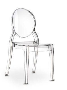 acrylic ghost chair elizabeth made of polycarbonate it seems to be