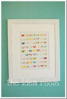 butterfly wall art collage 4
