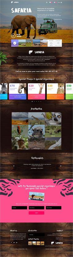 Safaria is beautifully design responsive #WordPress theme for #safari and #Zoo websites download now➩ https://themeforest.net/item/safaria-safari-zoo-wordpress-theme/19116466?ref=Datasata