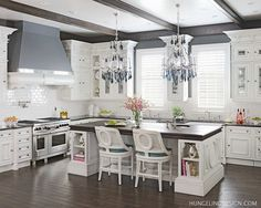 Clive Christian Luxury Kitchen in Murray, KY, by Hungeling Design