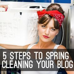 For clarity and speed for your blog... Spring Cleaning! #blogtips #blogs