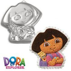 Met deze Dora bakvorm maak een mooie taart! Perfect voor kinderverjaardagen, feestjes en andere gelegenheden.