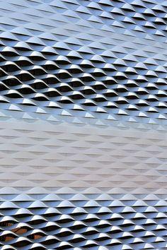 Messe Basel New Hall / Herzog & de Meuron, by Hufton + Crow  #architecture
