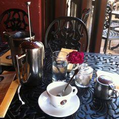 Romantic coffee date please. Cafe Intermezzo Great French Toast