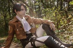 Shingeki no kyojin cosplay... Rivaille Ackerman by DeathLifeCosplayCrew