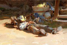 Artwork of Oil Painter Kim English Kim English, Painting People, Figure Painting, Painting Edges, Light Painting, Klimt, English Artists, Southwest Art, Portraits