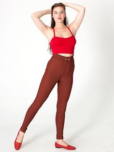 Riding Pant | Form-Fitting | Women's Pants | American Apparel