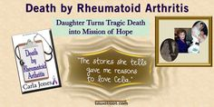 This review of the book Death by Rheumatoid Arthritis by Carla Jones shows the importance of awareness of the ways RA affects the body including the spine.