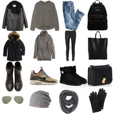 """""""COOL WEEK"""" by maellog on Polyvore"""
