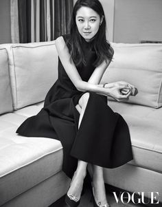Gong Hyojin in Dior for Vogue Korea, May 2017 Korean Actresses, Actors & Actresses, Gong Hyo Jin, Short Film Festivals, Yoo Ah In, Vogue Korea, K Idol, Korean Girl, Korean Wave