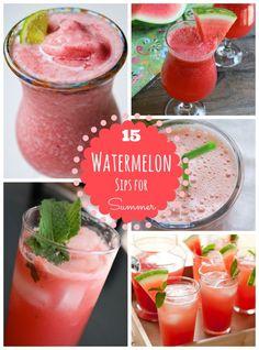 15 Totally Refreshing Watermelon Drinks!