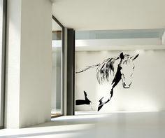 Vinyl Wall Decal Sticker Horse #AC175   Stickerbrand wall art decals, wall graphics and wall murals.