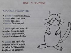 dni v týždni Preschool, Classroom, Teaching, Education, Children, Speech Language Therapy, Preschools, Boys, Kid Garden