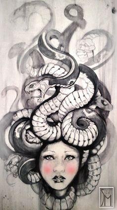 Medusa by ~ShawnMahaffey on deviantART