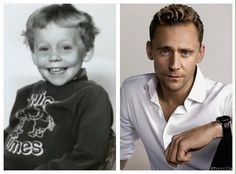 4 years old Tom and 35 years old Tom... God knows to do his job