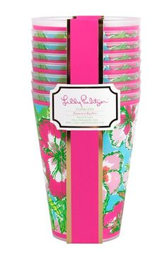 Lilly Pulitzer® Tumblers (Set of 8)