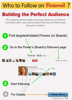 Who to Follow on Pinterest?