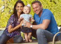 Melissa Rycroft, husband Tye Strickland daughter Ava-beautiful family.