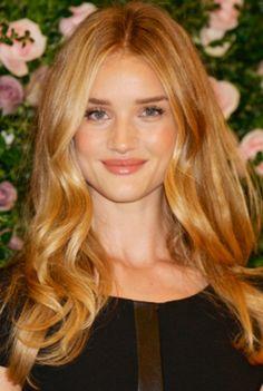 caramel blonde hair