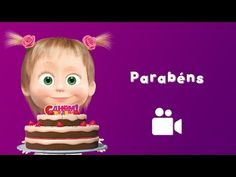 "Happy Birthday song from episode 44 ""Once Upon a Year"" The Bear has his birthday party. Funny Happy Birthday Song, Happy Birthday Greetings Friends, Happy Birthday Wishes Photos, Beautiful Birthday Wishes, Happy Birthday Video, Birthday Songs, Marsha And The Bear, Kids Nursery Rhymes, Kids Songs"