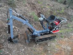 Metal Projects, Welding Projects, Homemade Tools, Diy Tools, Tools And Equipment, Heavy Equipment, Homemade Tractor, Small Tractors, Mini Excavator