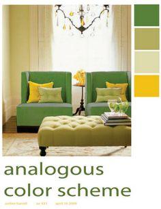 Analogous Color Scheme On Pinterest Color Wheels Color