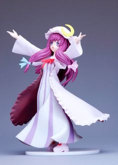 Touhou Project - Patchouli Knowledge - Touhou Gakkaranbu Trading Figure Collection (Surfers' Paradise Team Shanghai Alice)