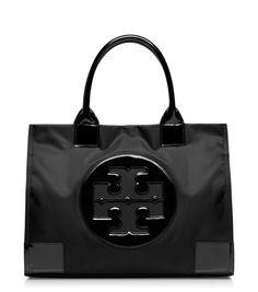 TORY BURCH ELLA TOTE. #toryburch #bags #patent #hand bags #nylon #tote #