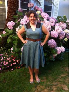 we change beauty - blog Lovely dress. Very wearable. Feminine without frou frou.