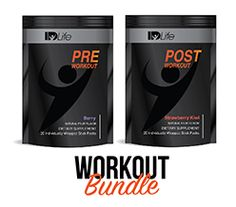 Pre & Post Workout Stick Bundle - Berry/Berry image