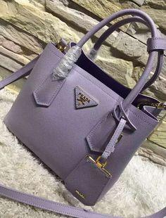 924e770e5a0101 PRADA Saffiano leather flap wallet with enamel triangle logo geranio ...