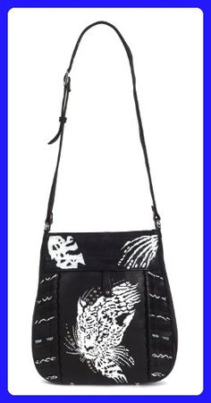 6e86e89345a404 ZIMBELMANN TIARA Genuine Nappa Leather Hand-painted Cross Body Shoulder Bag  - Shoulder bags (*Amazon Partner-Link)