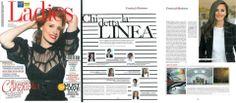 """VILLARI for the magazine """"Ladies"""" in april 2012"""