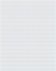 Free Printable Graph Paper to Download: Free Knitter's Graph Paper ::4 Stitches and 6 Rows Per Inch:: This is the recommended gauge for knitting with Peaches & Creme yarn on size 7 knitting needles