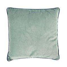 b4c9c0eb033c9d Achat Athezza Coussin Countra 45 x 45 cm - vert de gris bleu canard (