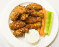 LOVE the wasabi ranch!  Chili's Shanghai Wings And Wasabi Ranch Dressing Recipe